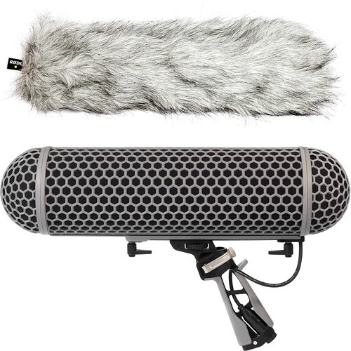(PRE-ORDER) Rode Blimp Windshield and Rycote Shock Mount Suspension System for Shotgun Microphones