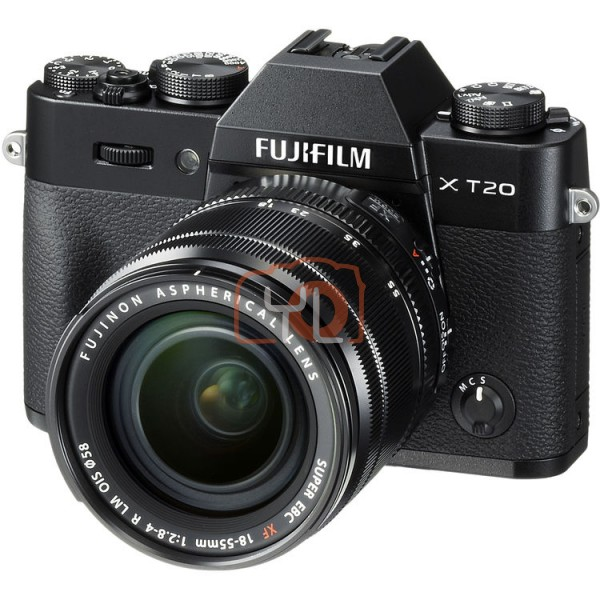 Fujifilm X-T20 + XF 18-55mm F2.8-4 R LM OIS (Black) [Free 32GB SD Card + Extra Battery]