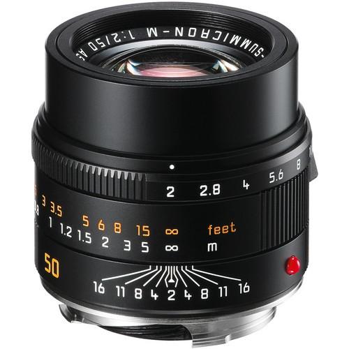 Leica 50mm F2 APO-Summicron-M ASPH - Black (11141)