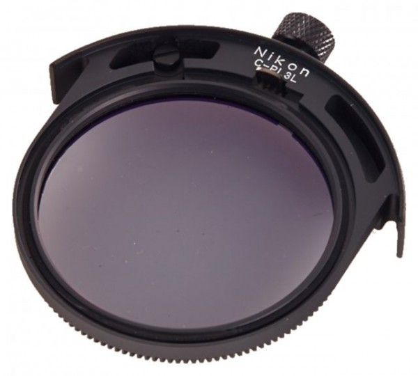 Nikon 52mm Circular Polarizer (C-PL3L) Glass Filter - Drop-In