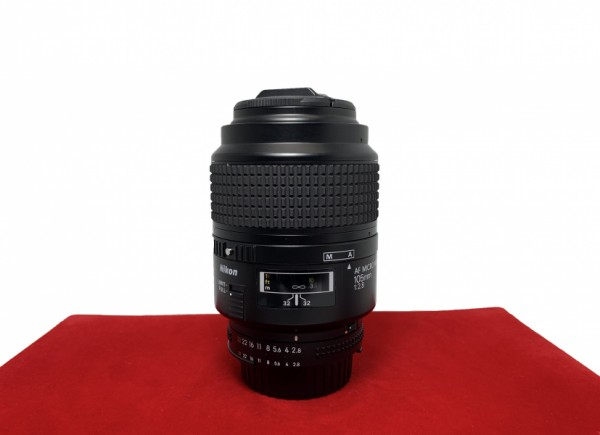 [USED-PJ33] Nikon 105MM F2.8 AF Micro, 90% Like New Condition (S/N:333661)