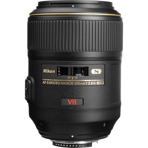Nikon 105mm F2.8G AF-S VR Micro