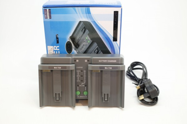 DBK Dual LCD Battery Charger LP-E19 (Canon Battery)