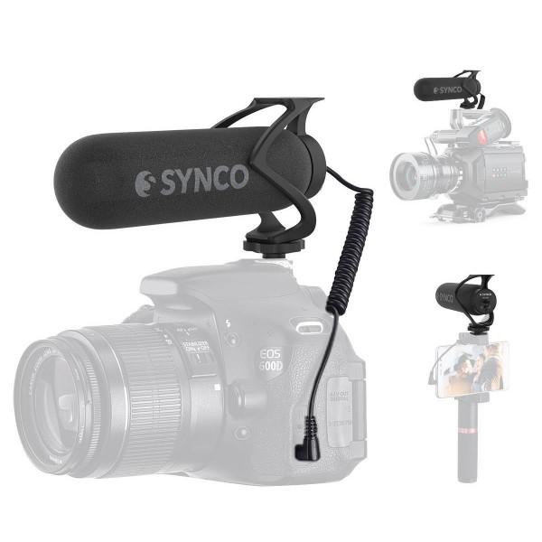 (Pre-Order) Synco Audio Mic-M2 Super-Cardioid Shotgun Microphone