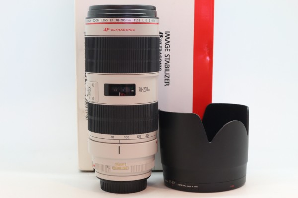[USED-PUDU] CANON 70-200MM F2.8 L EF IS II USM 95%LIKE NEW CONDITION SN:7760003852