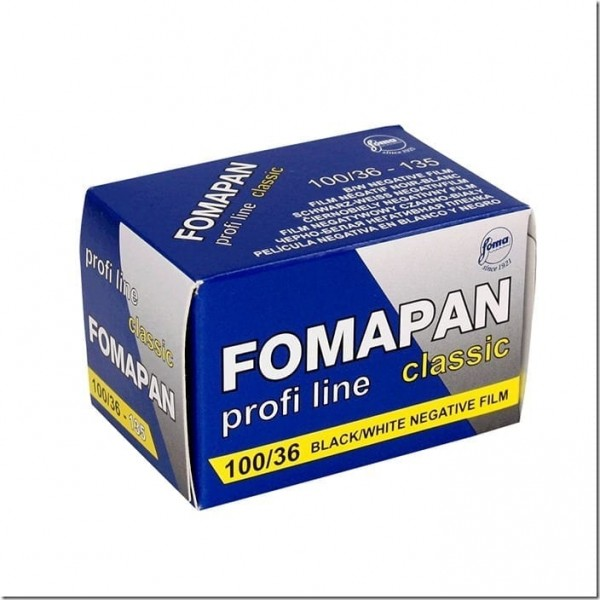 Fomapan 100 Classic B&W Film Rolls (35mm Roll Film, 36 exposures)