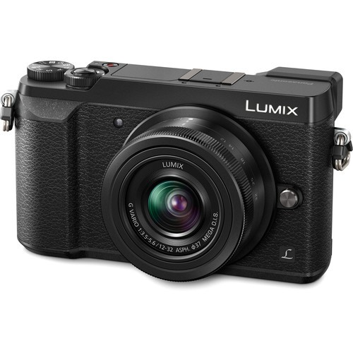 Panasonic Lumix DC-GX85 W12-32mm (Black) (FREE Extra Battery Redeem Online)