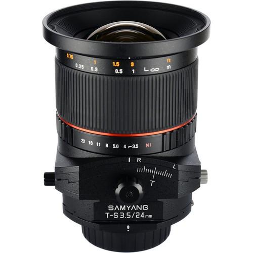 Samyang 24mm F3.5 ED AS UMC Tilt-Shift Lens for Canon M Mount