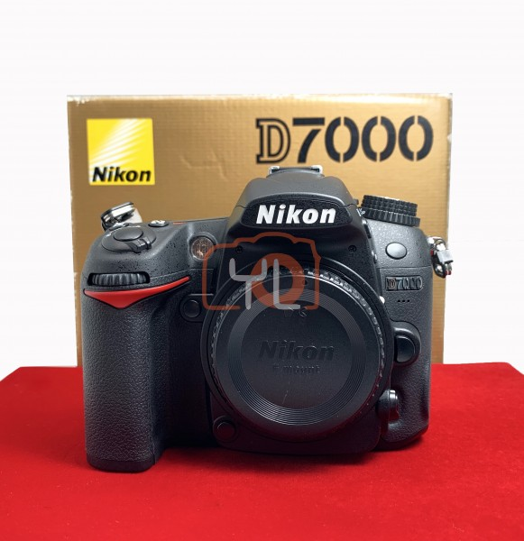 [USED-PJ33] Nikon D7000 Body (Shutter Count : 1400), 95% Like New Condition (S/N:8153514)