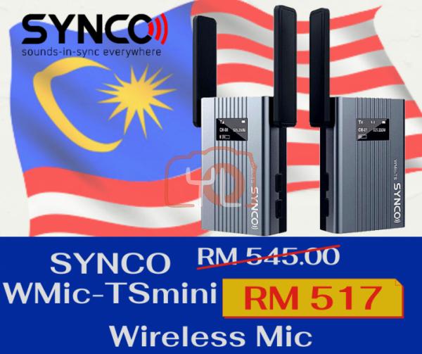 Synco WMic-TSmini Wireless Mic System (1 Trigger 1)
