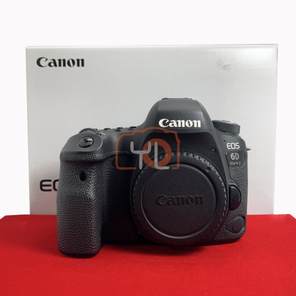 [USED-PJ33] Canon Eos 6D Mark II Body (Shutter Count: 70K), 90% Like New Condition (S/N:98051000823)