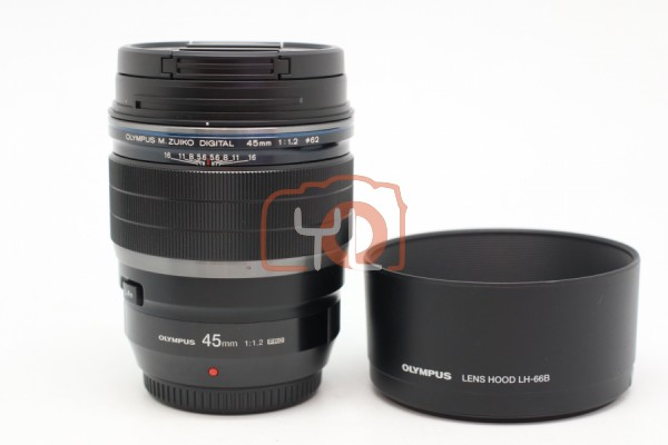 [USED-PUDU] Olympus 45mm F1.2 PRO 95%LIKE NEW CONDITION SN:349007773