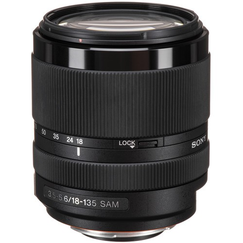 (Special Offer) Sony DT 18-135mm F3.5-5.6 SAM Lens for Sony A Mount