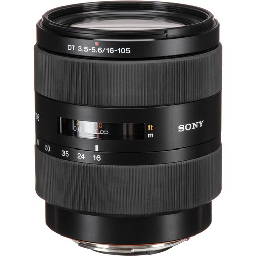 (Special Offer) Sony 16-105mm F3.5-5.6 DT Lens for Sony A Mount