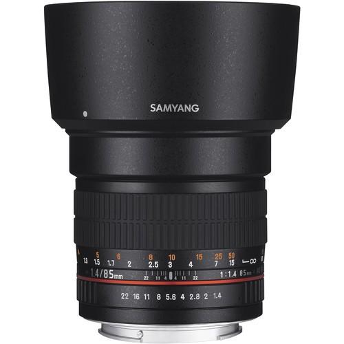 Samyang 85mm F1.4 Aspherical IF Lens for Sony Alpha