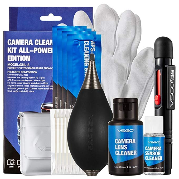 VSGO DKL-3 Camera Cleaning Kit All-Powerful Edition