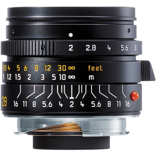 Leica 28mm F2 Summicron-M ASPH. - Black (11604)
