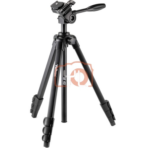 Velbon M45 Aluminum Tripod with 3-Way Head