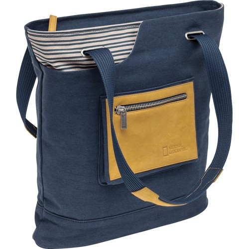 National Geographic NG MC 2550 Mediterranean Series Medium Tote Bag (Blue)