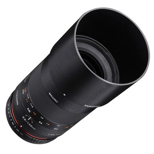 Samyang 100mm F2.8 ED UMC Macro Lens for Pentax K Mount