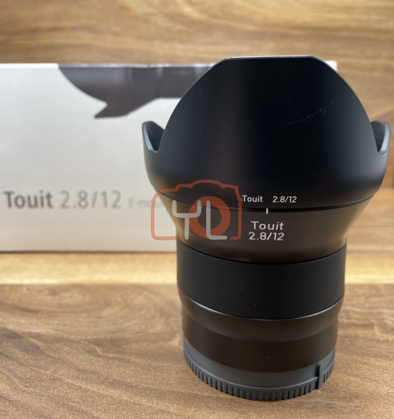 [USED @ YL LOW YAT]-ZEISS Touit 12mm F2.8 Lens For Sony E-mount,98% Condition Like New,S/N:51012993