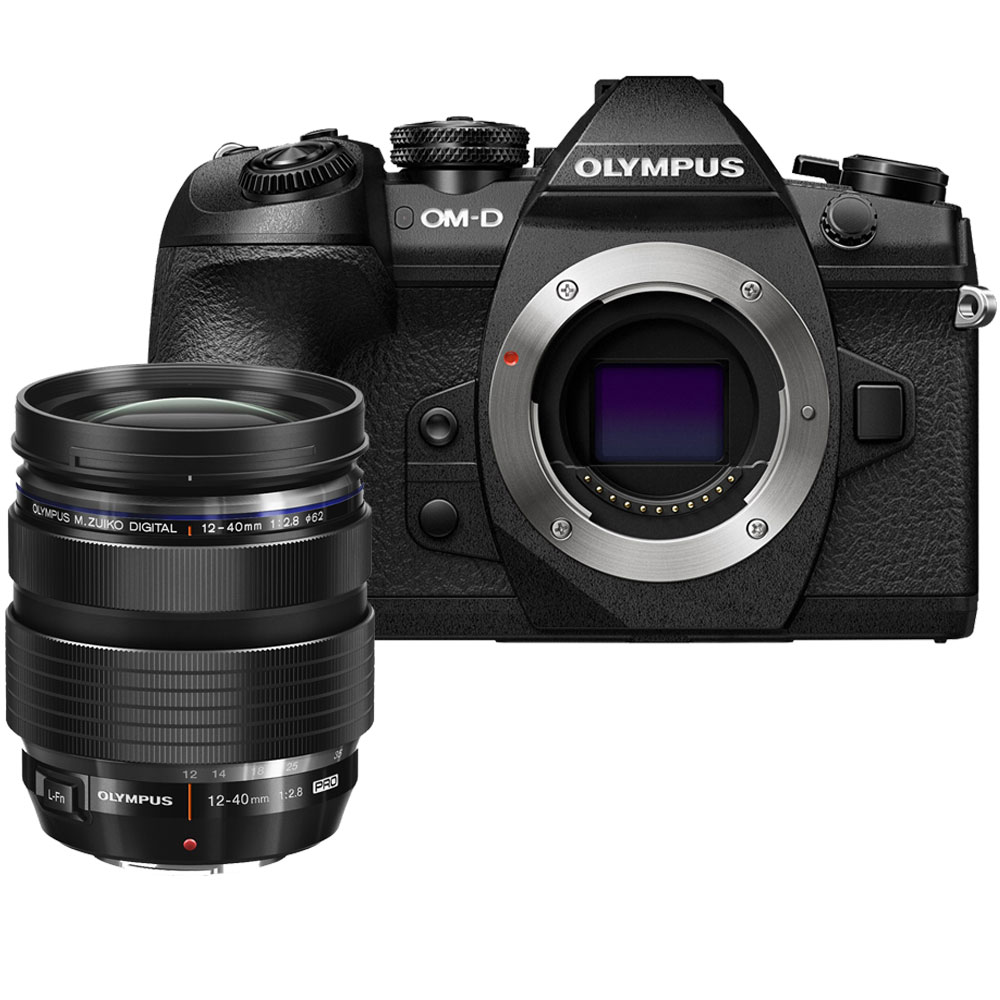 (RAYA PROMO) Olympus OM-D E-M1 Mark II + M. Zuiko 12-40mm F2.8 PRO (Black) [Free Lexar 64GB 150MB/s SD Card]