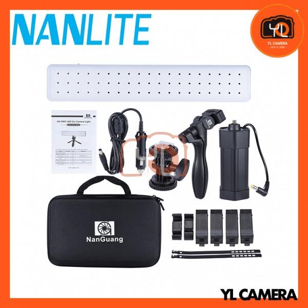 Nanguang CN-T80C Bi-color 3200K-5600K Portable LED Light for Camera Photography