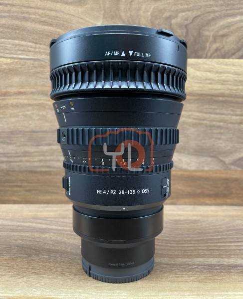 [USED @ YL LOW YAT]-Sony FE PZ 28-135mm F4 G OSS Lens,95% Condition Like New,S/N:5112634