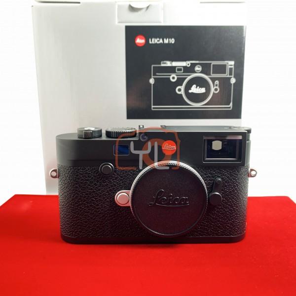 [USED-PJ33] Leica M10 Body (Black) 20000, 85% Like New Condition (S/N:5256277)