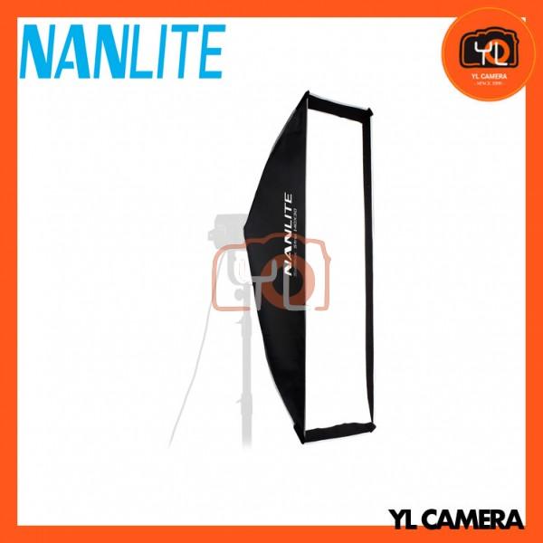 Nanlite SB-AS-110X45 Asymmetrical Stripbank Softbox with Bowens Mount