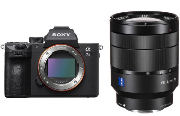 Sony a7 Mark III + FE 24-70mm F4 ZA OSS [Free 32GB SD Card + NP-FZ100]