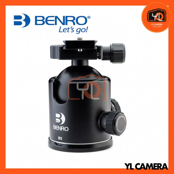 Benro B5 Triple Action Ball Head with PU85 Quick Release Plate