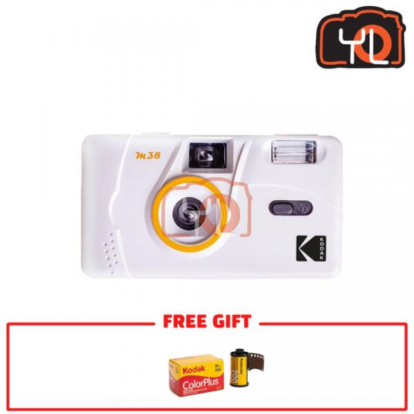 Kodak M38 Film Camera - White (Free Kodak ColorPlus)