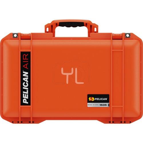 Pelican 1535 Air Wheeled Hard Case with Foam (Orange)