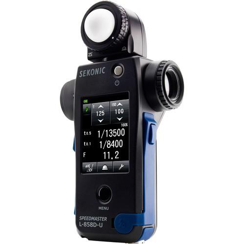 (Pre-Order) Sekonic L-858D Speedmaster Light Meter W/ RT-3PW Transmitter for Pocket Wizard