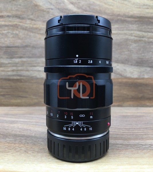 [USED @ YL LOW YAT]-Voigtlander 75MM F1.8 Heliar Classic VM-Mount Lens,95% Condition Like New,S/N:08510604