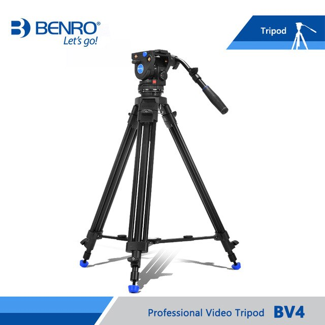 Benro BV4 Pro Video Tripod Kit