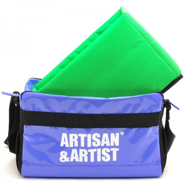 Artisan & Artist WCAM - 3000 Camera Bag Blue (Made In Japan)