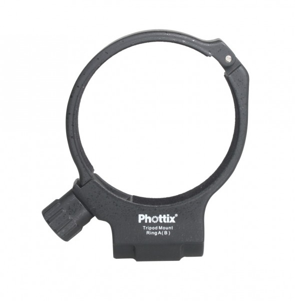 (SPECIAL DEAL) Phottix Tripod Mount Ring For Canon 100mm F/2.8 IS (Black)