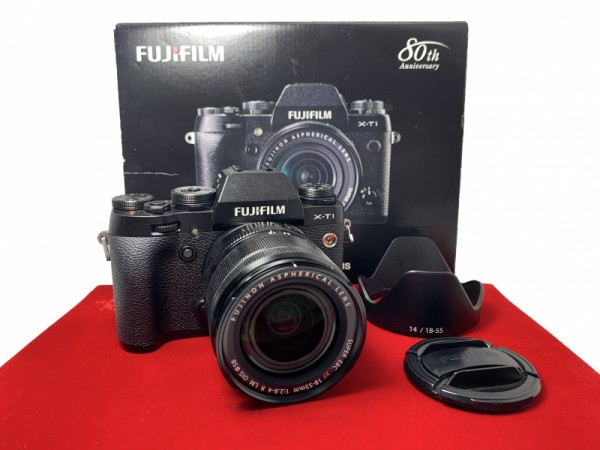 [USED-PJ33] Fujifilm X-T1 With 18-55MM F2.8-4 R XF LM OIS, 90% Like New Condition (S/N:43M02399)