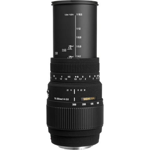 Sigma 70-300mm f/4-5.6 DG Macro Lens Nikon