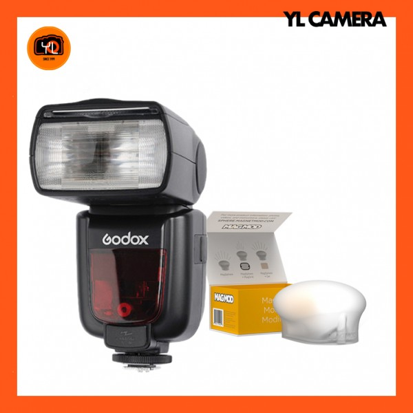 Godox TT685 TTL Flash W/ MagMod Sphere Kit