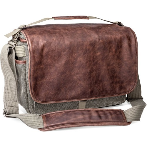 (SPECIAL DEAL) Think Tank Photo Retrospective 30 Shoulder Bag (Gray with Brown Leather)