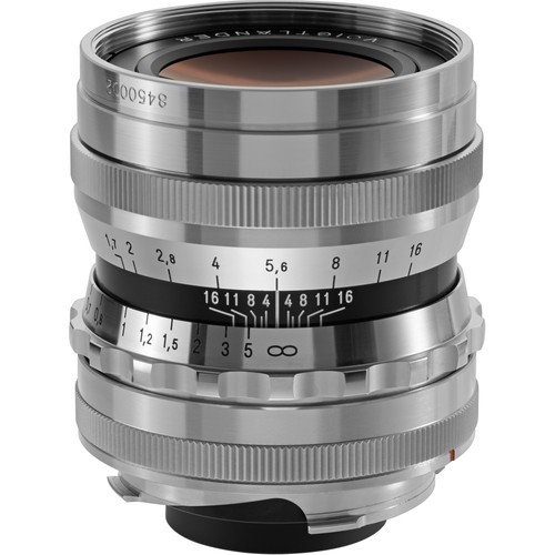 Voigtlander 35mm F1.7 Ultron Aspherical Lens - Chrome (For Leica M-Mount)