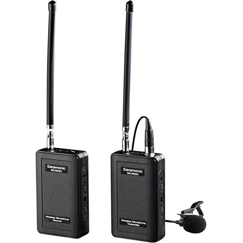 Saramonic SR-WM4C VHF Camera-Mount Wireless Omni Lavalier Microphone System