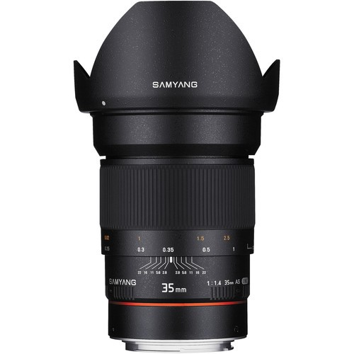 Samyang 35mm F1.4 AS UMC Lens for Canon EF (AE Chip)