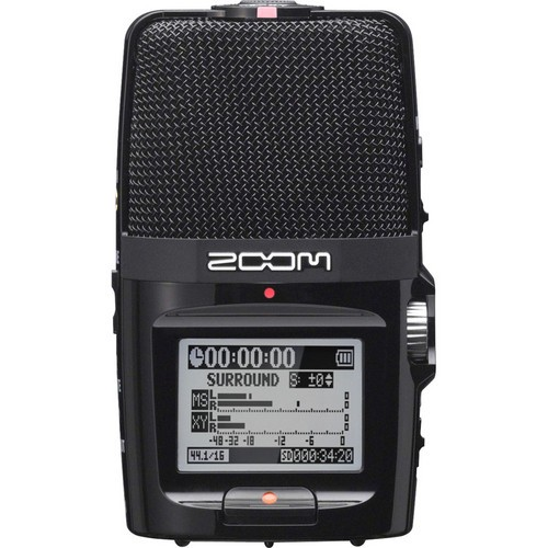 ZOOM H2n Portable Handy Recorder W/ Onboard 5-Mic Array