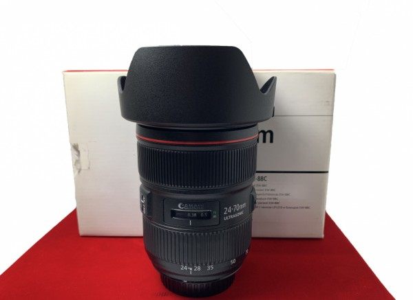 [USED-PJ33] Canon 24-70MM F2.8 L II USM EF, 95% Like New Condition (S/N:9400009033)