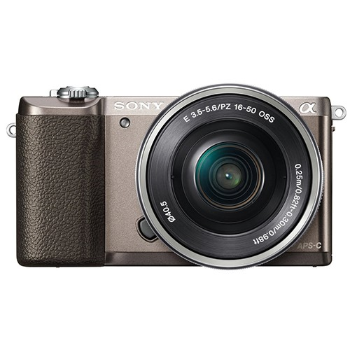 (Sony Special Deal) Sony a5100 (Brown) + E PZ 16-50mm F3.5-5.6 OSS [Free 16GB SD Card]