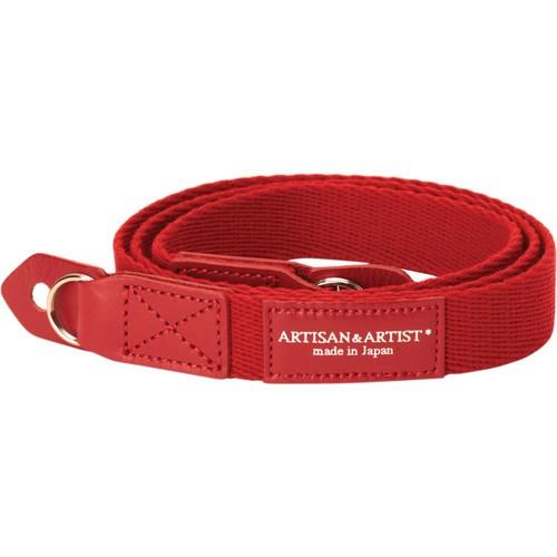 Artisan & Artist ACAM-102 Camera Strap (Red)